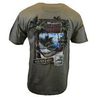 Mens Tee T Shirt S M L XL XXL Bahama Beach Hawaiian Surf Island Aloha Palm NEW
