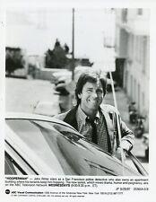 JOHN RITTER SMILING PORTRAIT NEXT TO CAR HOOPERMAN ORIGINAL 1987 ABC TV PHOTO