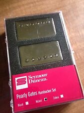 Seymour Duncan Pearly Gates Humbucker Pickup Set Nickel Covers 11108-49-NC NEW