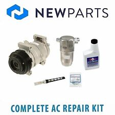 Cadillac Seville 98-04 Complete AC A/C Repair Kit with NEW Compressor & Clucth