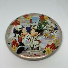 Tokyo Disney Resort Button TDL Christmas 2018 Mickey Minnie