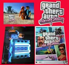 GRAND THEFT AUTO Vice City Limited 2 Sided Original PS3 Xbox 360 Poster RARE