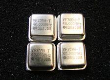 Valpey Crystal Oscillator 40MHz 5V VF70BH-T40.000MHz DIP-8, Qty.4