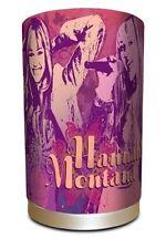 DISNEY HANNAH MONTANA FABRIC LAMP BEDSIDE TABLE DESK