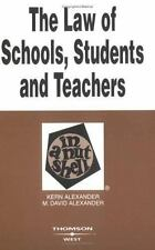 The Law of Schools, Students and Teachers in a Nutshell (Nutshell Seri-ExLibrary