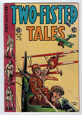 TWO-FISTED TALES #40 3.5 EVANS ART OFF WHITE PAGES GOLDEN AGE