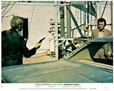 Magnum Force Original Lobby Carte Clint Eastwood Dirty Harry Hal Holbrook