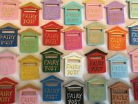 Wooden Fairy Post Postbox - Fairy Door Accessory - Fairy Garden