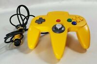 Official Nintendo 64 Controller Yellow N64 NUS-005 Tested as Working