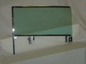 LH Door Glass in Frame 1959 1960 Buick Cadillac Chevy Olds Pont Convertible GT