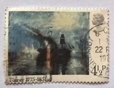 Great Britain stamps - Turner 1775-1851 (Peace - Burial at Sea 1842 - FREE P & P