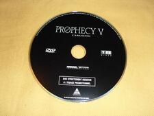 PROPHECY 5 L'abandon DVD PROMOTIONNEL (Video-club) Jason Scott LEE Joel SOISSON