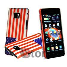 Cover Custodia Per Samsung Galaxy S2 i9100 Bandiera USA America