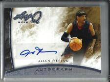 Allen Iverson 2015 Leaf Q Silver Autograph