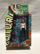 Futurama Leela 2007 action figure by Toynami with robot devil part Mib!