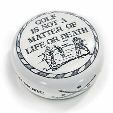 DESK ACCESSORIES - GOLF IS NOT A MATTER OF LIFE OR DEATH PAPERWEIGHT - MENS GIFT