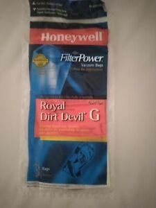 Honeywell  Vacuum Bags for Dirt Devil Corded Hand Vacs [3 BAGS IN PACKAGE]