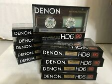 Denon HD6-90 Old School Cassette Tapes Made in Japan