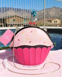 🌸 Kate Spade New York Take the Cake Posie Crossbody Bag Pink Multi NEW $249 🌸