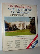 THE PRESIDENTS' OWN WHITE HOUSE COOKBOOK BICENTENNIAL ED by R.JONES 1976 HC/DJ