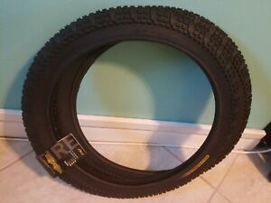GT Logo Tires 20x2.1 Old School BMX Black Pro Performer Tour Team Wing