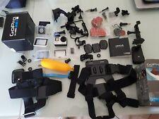 GoPro HERO 4 Action Camera - Silver ottime condizioni con numerosi accessori