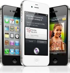 Apple IPHONE 4 4s 8GB 16GB Smartphone Gsm Teléfono Desbloqueado / en Caja Arriba