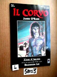 JAMES O'BARR IL CORVO N° 3 del DICEMBRE 1994  ANCORA CON CELLOFAN      (5BIS3)