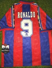 Maglia Barcellona 1996-1997 - Ronaldo Calcio Vintage Retro Messi Guardiola Puyol