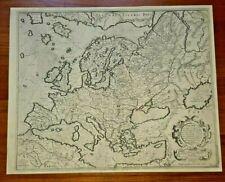 "EUROPA  - Gerard Mercator, ""Europa..."", Duisburg, 1595."