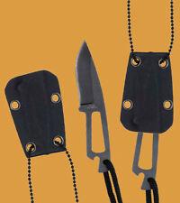 Security Neck Knife Neckknife Halsmesser Messer Einhandmesser m. Halskette 80440