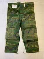 GI Woodland Camo Wet Weather Trouser ORC Industries X-Large New NWT#52