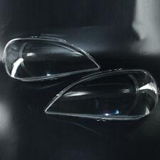 2pcs Clear Head Light Headlamp Lens Cover for Benz ML Class W163 2002-2005 MU
