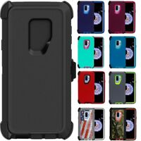 For Samsung Galaxy S9 / S9+Plus Case Cover w/ (Clip Fits Otterbox Defender)