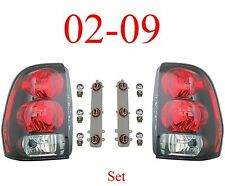 02 09 Trailblazer Tail Light Set, Assembly, W/Circuit Board & Bulbs, Both L&R!!