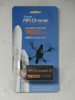 NEW Battery For PARROT AR-DRONE 2.0 1500mAh + 50% of extra time