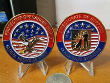 CIA DOS Clandestine Operative K9 Protective Operations Division Challenge Coin