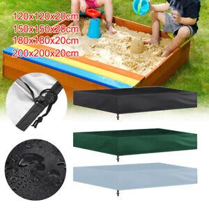 Sandkastenabdeckung Sandkastenplane Abdeckplane Sandkasten Kordelzug Wasserdicht