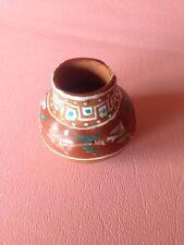 Vintage Southwestern Style Unknown Maker Small Pottery Vessel