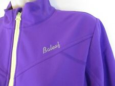Baleaf Womens Softshell Cycling Jacket Sz Small Purple Nylon Long Sleeve CB58G