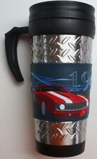 69 chevy camaro tumbler travel cup coffee drink stainless mug holder chevrolet