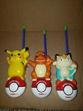 POKEMON WALKIE TALKIES Rare Pikachu, Meowth & Charmander Version TIGER