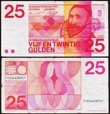 25 GULDEN 1971 PAYS BAS / NETHERLANDS - P92b