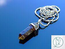 Eliotropio Cristallo Punto Ciondolo Collana Pietra preziosa Naturale Pietra di guarigione chakra