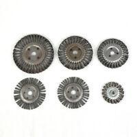 100-300mm Knotted Twist Wire Wheel Brush For Grinder,Round Hole,Steel Bristles