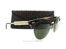 New Gucci Sunglasses GG 4283/S Black Palladium CSA1E Authentic