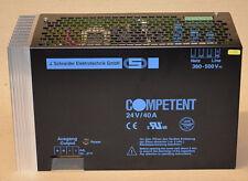 J. Schneider Netzteil 149001-711013 Stromversorgung COMPETENT 24V/40A