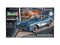 Revell 1:25 Maquette Kit RV07037 - 1958 Corvette Roadster