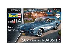 REVELL 1:25 SCALE MODEL KIT RV07037 - 1958 Corvette Roadster