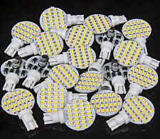 20 x T10 921 194 Warm White 24-2835 SMD LED Wedge Dome Light Bulbs Super Bright